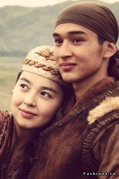 "Kazakh. Hero and heroine of ""Myn Bala,"" one of my favorite films. (Could be Ogodai and Firuza.)"