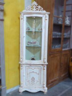 Shabby chic corner dresser display cabinet laura ashley josette ...