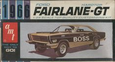 AMT - 1966 Ford Ford Fairlane-GT model kit
