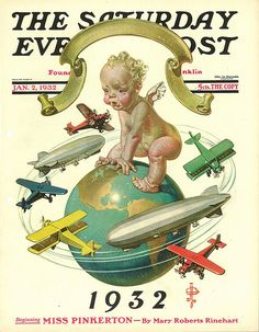 Baby's World  January 2, 1932  J. C. Leyendecker    Saturday Evening Post
