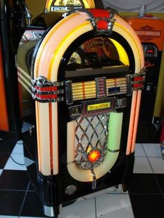 jukebox...all the hit songs of the day... a nickel a song or six for a quarter