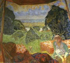 Pierre Bonnard - Summer in Normandia , 1912, oil on canvas, Pushkin Museum, Moscow