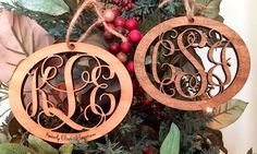 One, Two, or Three Custom Wood Ornaments from LilyDeal.com (Up to 80% Off)