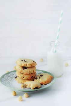Hazelnut Chocolate Chip Cookies #glutenfree #grainfree #paleo