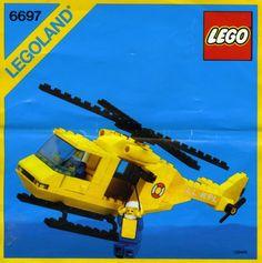 6697-1: Rescue-I Helicopter | Brickset: LEGO set guide and database