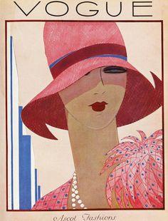 U.K. Vogue cover May 1927