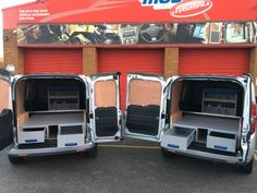 Van Drawer Racking installed into a fleet of Vauxhall Combos Van Racking, Van Storage, Drawer, Drawers, Chest Of Drawers