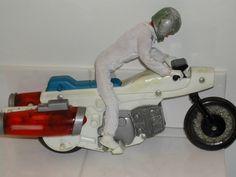 Vintage Evel Knievel Toy Rocket Bike with Rider by MerlinMN, #sellergroup