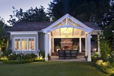 Great outdoor entertaining space