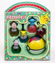 Pokemon Pikachu Figure Christmas tree Lump Set JAPAN ANIME MANGA POCKET MONSTER