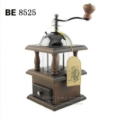 Be 8525 double layer hand grinder coffee bean grinding machine home classical style