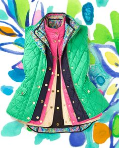 Not sure which vest is right for you this season? Lilly Pulitzer have tons of quilted options for you to choose from for your unique look!