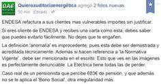 WEBSEGUR.com: LAS ELÉCTRICAS SIGUEN ESTAFANDO IMPUNEMENTE