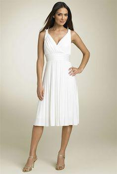 Short Second Wedding Dresses | cute informal short wedding dresses