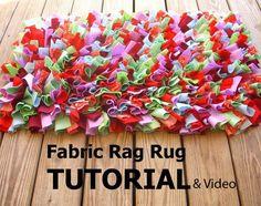 Rag Rug tutorial