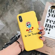 toy story 4 alien forky Candy Color cover phone case for iPhone X XR XS MAX 6 7 . - toy story 4 alien forky Candy Color cover phone case for iPhone X XR XS MAX 6 7 8 plus – iPhon - Girly Phone Cases, Funny Phone Cases, Iphone Cases Disney, Matching Phone Cases, Diy Iphone Case, Iphone Phone Cases, Iphone Case Covers, Free Iphone, Diy Case