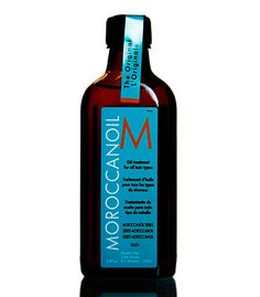 This isn't the brand I used (I found a cheap version at TJ Maxx just as good), but Moroccan Oil is WONDERFUL for your hair. Mine is prone to frizziness, oiliness, dryness at the tips, you name it. A tiny bit of this cures all and makes your hair super shiny :)