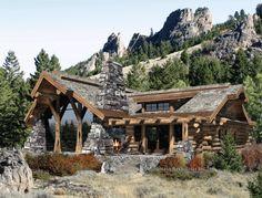 Gorgeous log cabin!