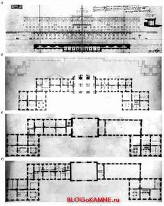 Projet de Stakenschneider en 1851.