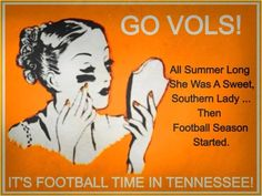 """This is my mother and all the other women in her family!!!   I said, """"It's great to be a Tennessee Vol."""""""