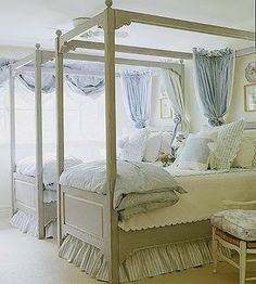 these are beautiful beds and can be used in a guest room or for a children's room.The Enchanted Home