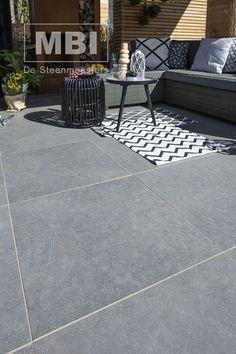 Tuintegels :: Geoceramica :: Geoceramica Impasto Grigio 60x60 - Lek Tuinmaterialen