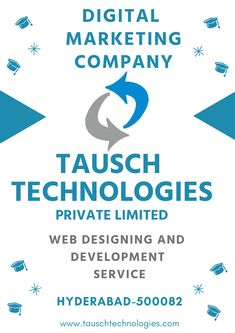 Tausch Technologies is the best IT Services Company in Hyderabad, We offer solutions and services like Web Development, Digital Marketing services and It Services Company, Web Design Services, Creative Web Design, Digital Marketing Services, Writing Services, Hyderabad, Web Development, Seo, Management