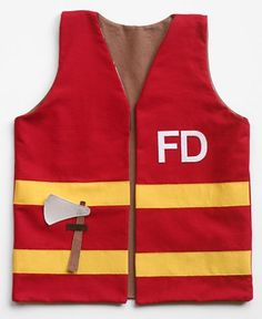 Child's Play Fireman Vest @ Fiskarscraft - Fiskars Craft