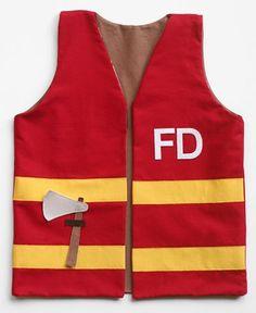Child's Play Fireman Vest @ Fiskarscraft - Fiskars Craft