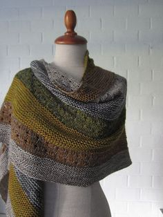 A Stephen West creation. One of these days I'm going to sit down and make one of his amazing shawls.