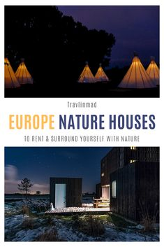 If you're looking for unique houses for rent in Europe — holiday rentals surrounded by nature — check out these unique and sustainable nature house accommodations from local landlords across Europe. Nature.House has more than 10,000 houses to rent, and plants trees for each rental to help offset the impact of tourism. How cool is that? #Europe #holidayrentals European Road Trip, European Travel Tips, Road Trip Europe, Europe Travel Guide, Europe Destinations, Europe Europe, Travel Guides, Holiday Rentals, Europe Holidays