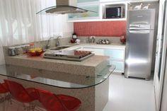 bancada de cozinha em U CLARINHA