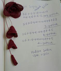 Gül yapımı Jeffree Star, Piercings, Arts And Crafts, Diy And Crafts, Needle Tatting, Moda Emo, Bargello, Filet Crochet, Crochet Flowers