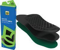 Orthotic Arch Support, Full Length, W-7&8, M-6&7 by Spenco. $39.99. (SOLD BY PAIR) Orthotic Arch Support, Full Length, W-7&8, M-6&7. Provides firm, customizable support for casual and athletic shoes. Helps control, stablize and balance the foot. Heat moldable for a custom fit. Material absorbs shock and reduces friction to improve overall foot comfort. Full length. Size 2 (Men's 6/7, Women's 7/8) . Brand: Spenco. Save 19% Off!