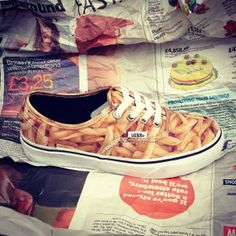 Exclusive to @Lillia Semler graff Shoes - Chip print @Vans Off The Wall Off The Wall Off The Wall!