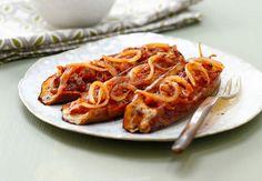 Aubergines farcies à la viande de boeuf hachéeVoir la recette des Aubergines farcies à la viande de boeuf hachée >>