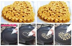 Meğer o güzel wafflelar böyle yapılıyormuş :)