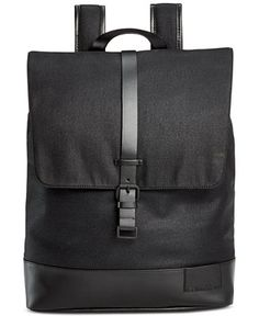 Calvin Klein Coated Canvas Backpack - Accessories & Wallets - Men - Macy's