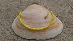 Check out this item in my Etsy shop https://www.etsy.com/listing/289090407/lemon-drop-yellow-hemp-bracelet-anklet