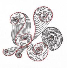 SPIRALEN Für einen schönen Blickfang bei Linienspielen sorgen immer wieder Spiralen. Ich habe festgestellt, dass es hier ganz unterschiedliche Möglichkeiten gibt, diese zu zeichnen. Das bietet natü…