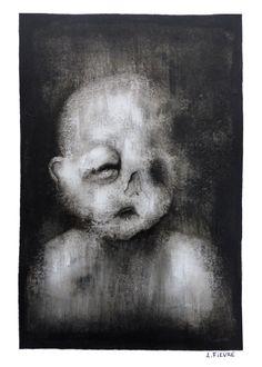 Impression 01 © Laurent Fièvre - Canson paper (acrylic) - 29.7 x 21 cm - 2015
