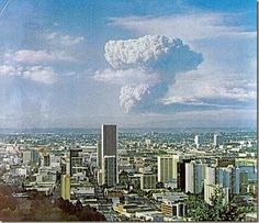 May 18 1980.  Eruption of Mt.St Helens.