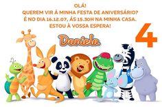 Convite digital personalizado Canal Panda 001