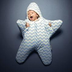 Sm Star Sleeping Bag - Blue by Baby Bites #MONOQI