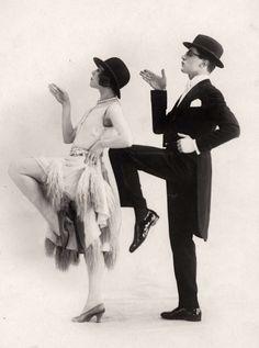 Danspaar Chominoff en Telay, 1926                                                                                                                                                                                 More