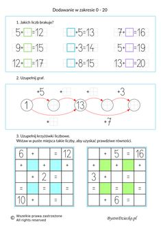 Math For Kids, Fun Math, Crafts For Kids, Counting To 20, Homeschool, Student, Education, Literacy Activities, Therapy