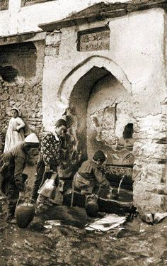 Osmanlı,Makedonyası.Pirlepe. Thessaloniki, Ottoman Empire, Historical Pictures, Bosnia, Macedonia, World Cultures, Old Photos, Istanbul, Fountain