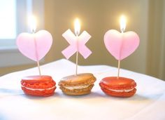 DIY Valentine's Day Candles by Hello!Lucky