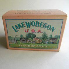 Vintage 1993 Lake Woebegone USA Garrison Keillor A Prairie Home Companion 4 audio cassette tape story radio show comedy #Vintage 1993 #Lake #Woebegone #USA #Garrison #Keillor A #Prairie #Home #Companion #etsy #radio #show #comedy
