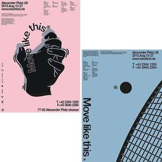 Born in Seoul, South Korea graphic designer Soojin Lee's portfolio is full of great moments with posters, branding projects and even a stamp collection all featuring. You can get a full view of the designers work on the site today. #itsnicethat #graphicdesign (@sooojin.lee)